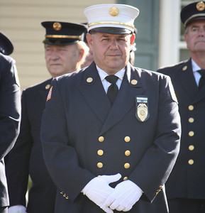 photos from Little Ferry Fire Dept. Inspection Cermony 9-11-10
