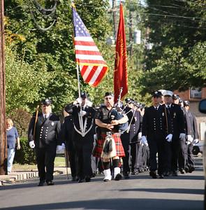 Little Ferry Fire Dept. Inspection Ceremony 9-11-10
