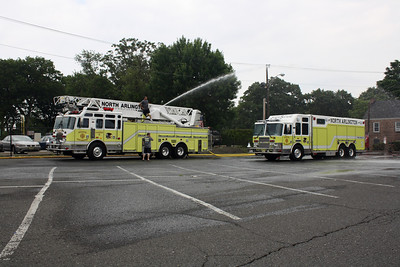 Photo's from North Arlington Wetdown Rescue 5 KME 6-12-10