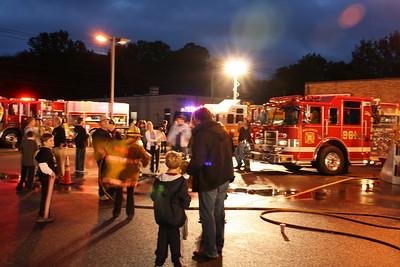 Northvale Fire Dept. Fire Prevntion Expo held at Mc Donalds 10-5-10