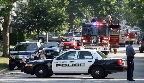Ridgefield Park 3rd alarm Hudson St.(Packing Up) 7-5-10