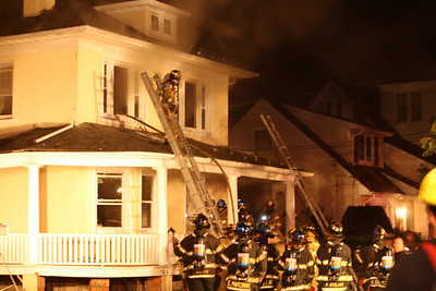 Photos from  Rutherford 2nd alarm Passaic St. 8-18-10