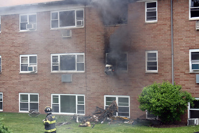 Photos from  Wallington 3rd alarm Garden Apt. Lackawanna Ave 5-8-10