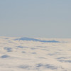 A smokey mountain, sticking up through an ocean of clouds.  Somewhere East of Chattanooga, South of Knoxville, KY