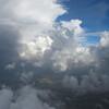 Thunderstorm upper left over Oklahoma City.