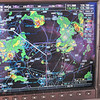 We're diverting Southwest from Wichita to avoid thunderstorms on the North side of Oklahoma City.  Lots of weather on the Nexrad.