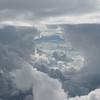 Interesting cloud patterns.