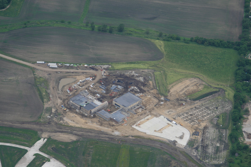 I'm told this is a new aquatic center under construction on the West side of Ankeny