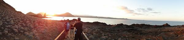 Sunset at Pinnacle Rock
