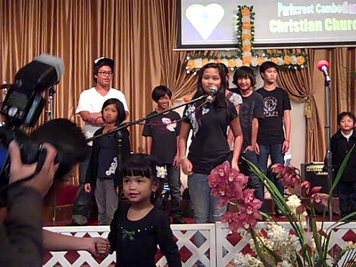 November 21, 2010: Children Performing at Parkcrest Church