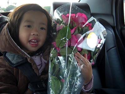 November 21, 2010: Flowers for Grandma