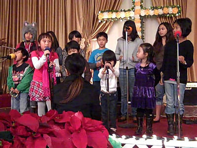 December 18, 2010: Children Music Practice