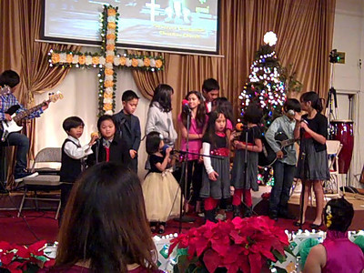 December 19, 2010: Children Performing at Parkcrest Church