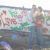 """Stacy and Eric painted Jan 19, 2010<br /> """"Our Little Love Boat"""""""