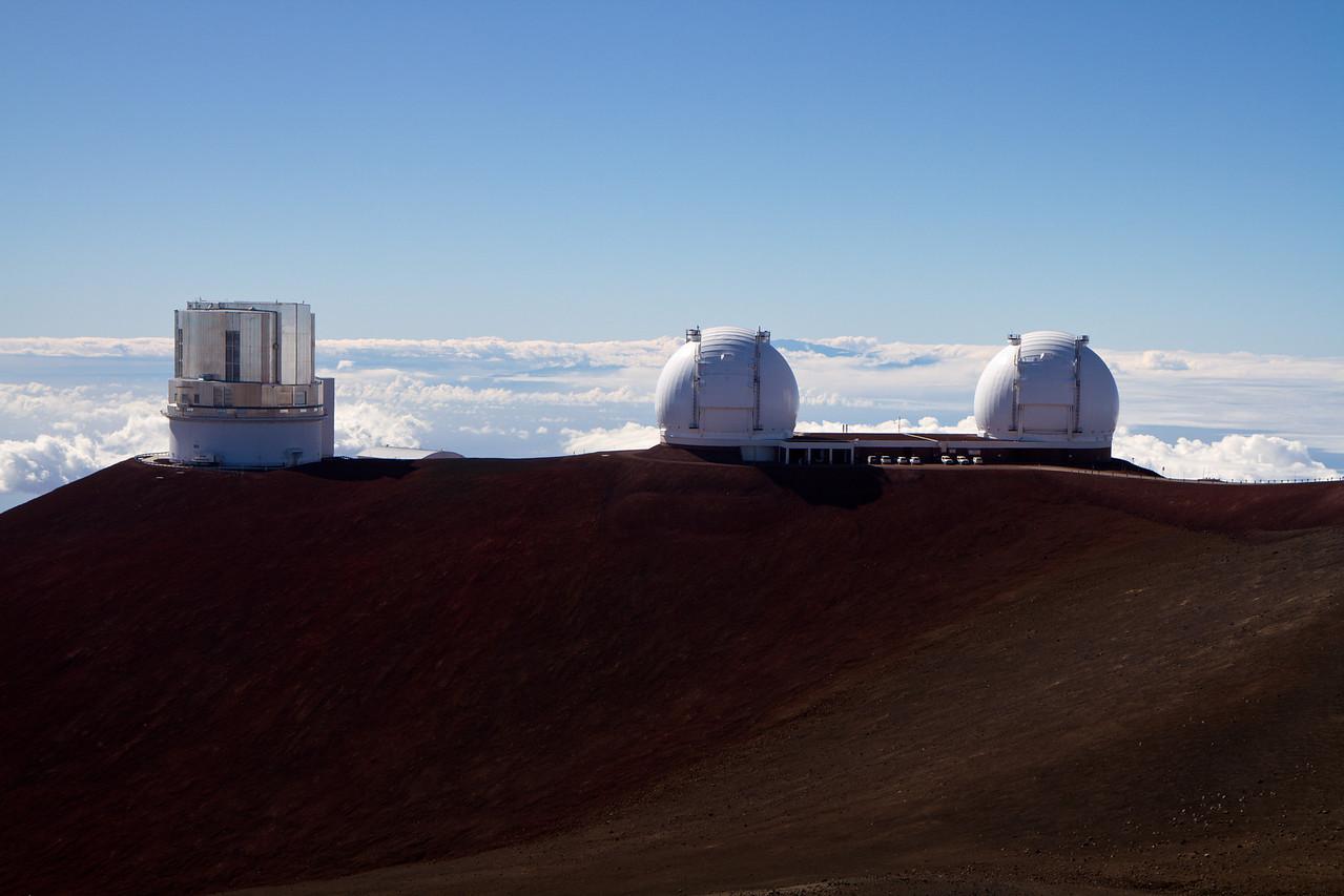 Observatory on top of Mauna Kea