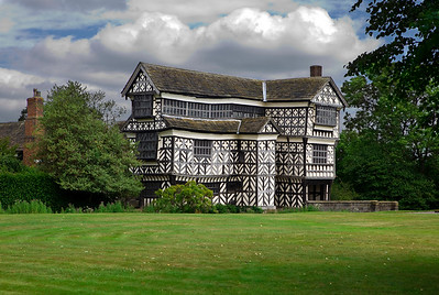Little Morton Hall, Staffordshire, England in July 2010