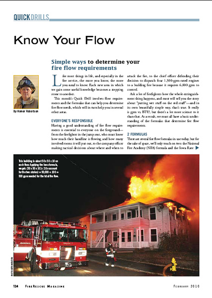 Fire Rescue Magazine (PAGE 124) February 2010