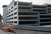 2010, campus, building, new parking deck, lot25