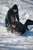 2010, campus, snow, students, winter