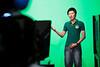 2010, Global Ed, Korean students visiting the Dumont Television Studio.