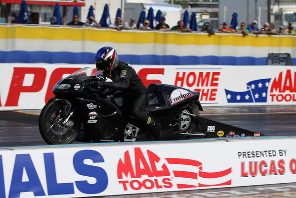 Pro Stock Motorcycle Action