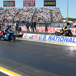 Pro Stock Motorcycle Action : copyright SpeedZone Magazine (no use without prior authorization)