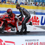 Pro Stock Motorcycle : copyright SpeedZone Magazine (no use without prior authorization)