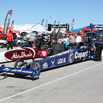 Top Fuel Dragster Staging Lanes : copyright SpeedZone Magazine (no use without prior authorization)