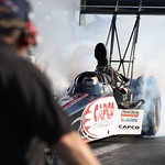 Top Fuel Dragster Burnouts : copyright SpeedZone Magazine (no use without prior authorization)