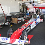 Top Fuel Dragster Pits : copyright SpeedZone Magazine (no use without prior authorization)