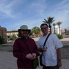 Mike and me in Marrakech.