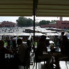 Djemaa El Fna as seen from Cafe Argana in Marrakech.