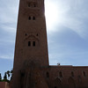 Koutoubia mosque in Marrakech.