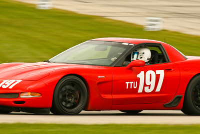 Tony Belak and his NASA Time Trials (TTU) Corvette C5 in action during NASA Midwest-Great Lakes Regions Crossover weekend at Autobahn Country Club, September 2010