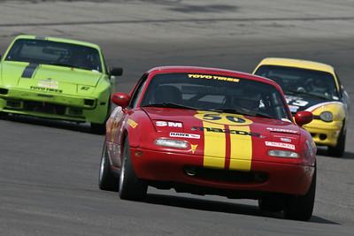 NASA Midwest Region racing action at Gateway International Raceway, April 2010