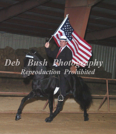 FLAG HORSE AND A FEW CANDIDS