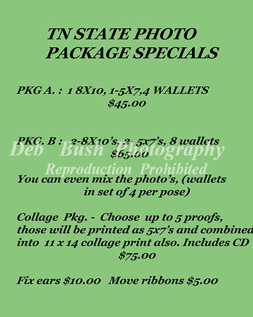 PHOTO PACKAGE SPECIALS