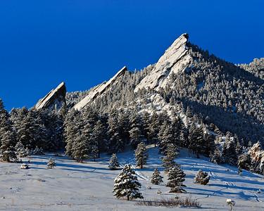 Chautauqa Park - Spring snow Boulder, CO
