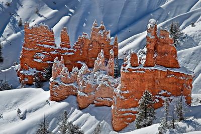 Hoodoos Bryce Canyon, Utah