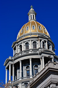 Colorado State Capitol - Dome from southeast