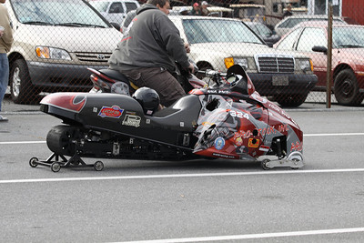 Snowmobile Staging Lanes