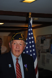 Judge Franklin Billings Jr. was honored with a Purple Heart from injuries he survived in WWII. Phil Camp Photos