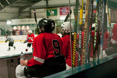 FACT Find a Cure Tournament Women's Hockey, Union Arena Woodstock VT November 7, 2010