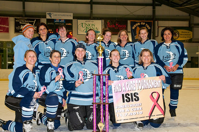 FACT Find a Cure Tournament Women's Hockey, Union Area Woodstock VT November 7, 2010