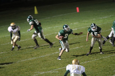 Woodstock Union High School, last game of the season vs Windsor. Beth Robinson photo.  From the 11/4/10 edition of the Vermont Standard.