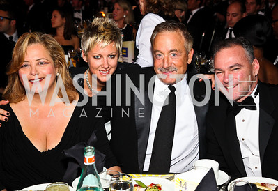 Photo by Tony Powell. Hilary Rosen, Kate Harold, Terry Bean, Tim Kaine. 14th Annual HRC Dinner. October 9, 2010