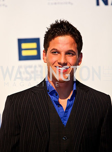 Photo by Tony Powell. Real World DC's Mike Manning. 14th Annual HRC Dinner. October 9, 2010