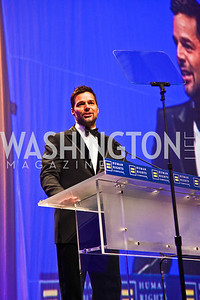 Photo by Tony Powell. Ricky Martin. 14th Annual HRC Dinner. October 9, 2010