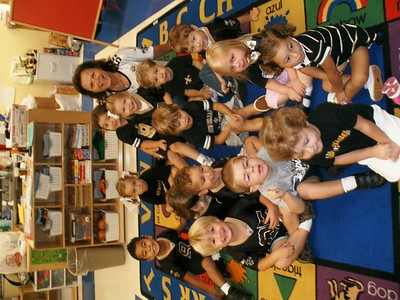 2010-10-12 PreK-3 Black & Gold Day