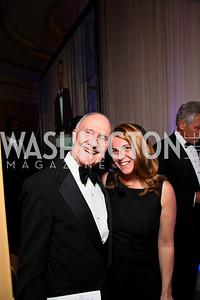 Brent Scowcroft, Kathy Fletcher. Photo by Tony Powell. Atlantic Council 2010 Annual Awards Dinner. Ritz Carlton. April 28, 2010